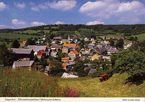 Ansichtskarte Saupsdorf