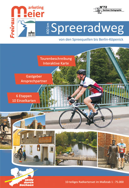 Karte Fahrrad Spreeradweg