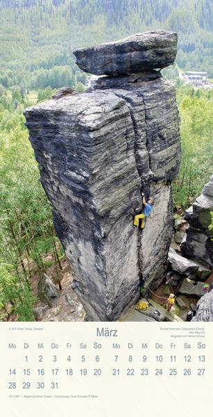 Felsen Klettern Sächsische Schweiz
