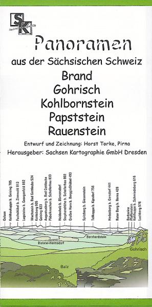 Karte Panorama Sächsische SchweizRauenstein