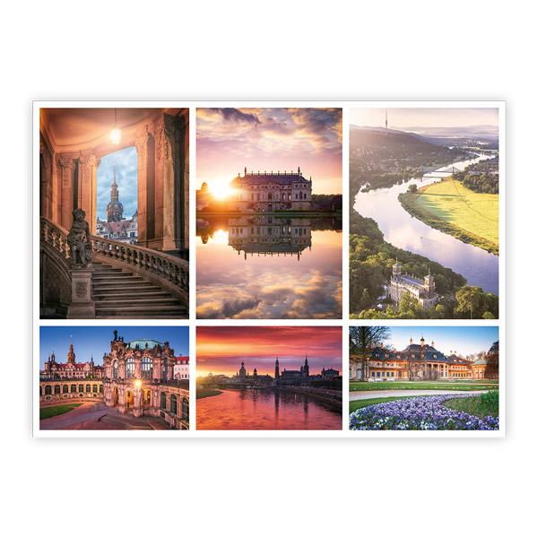 Ansichtskarte Dresden - Collage 4