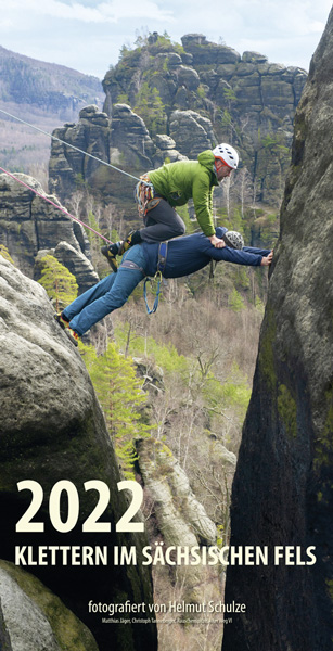 Kalender 2022 Klettern Bergsteiger