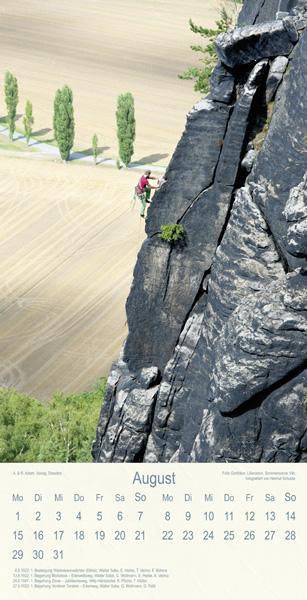 Klettern am Lilienstein