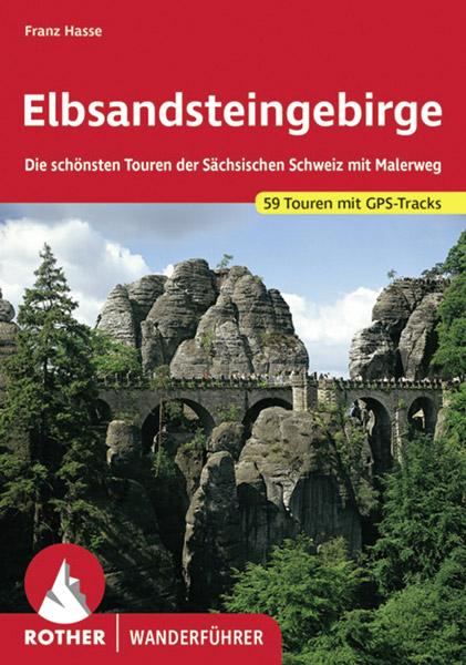 Rother Buch Wandern Elbsandsteingebirge Bastei
