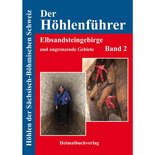 Höhlenführer Elbsandsteingebirge Buch