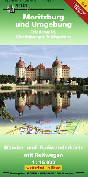 Wanderkarte Moritzburg Schloss