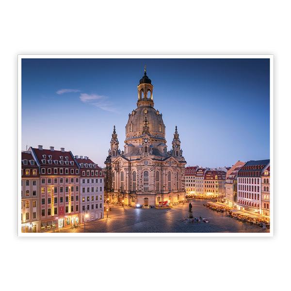 Ansichtskarte Dresden - Neumarkt mit Frauenkirche