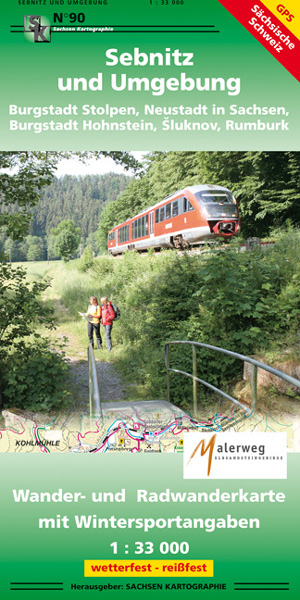 Wanderkarte Sebnitz Neustadt