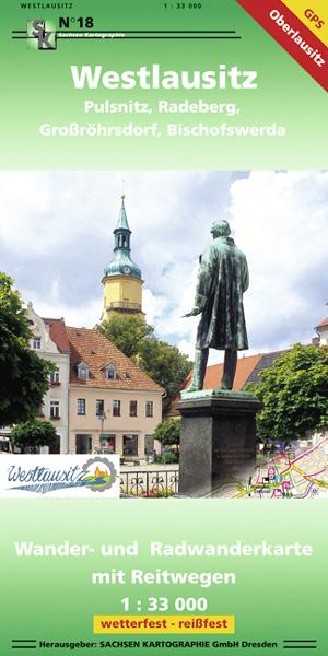 Wanderkarte Westlausitz - Pulsnitz, Radeberg ...