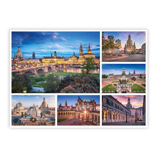 Ansichtskarte Dresden - Collage 1