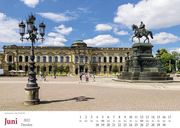 Dresden Juni 2022 Sempergalerie