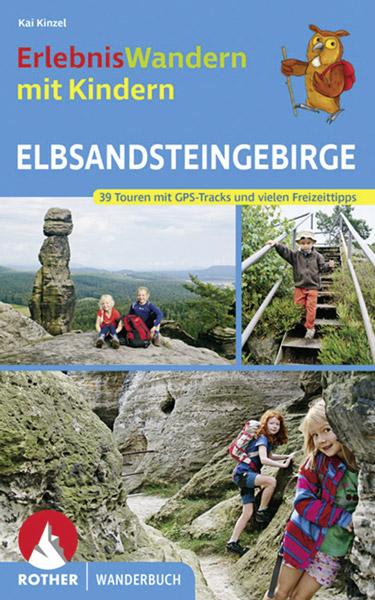 Rother Wandern mit Kindern Elbsandsteingebirge Buch