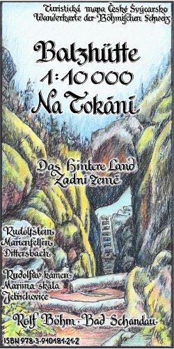 Wanderkarte Balzhütte Na Tokani Böhm
