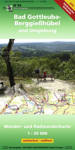 Wanderkarte Bad-Gottleuba Berggießhübel