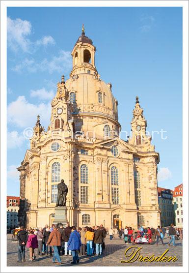 Ansichtskarte Dresden - Die Frauenkirche