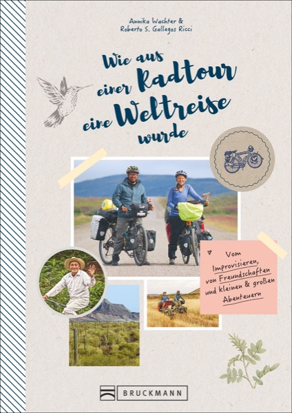 Buch über eine Radtour um die Welt