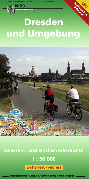 Wanderkarte Dresden Elbe