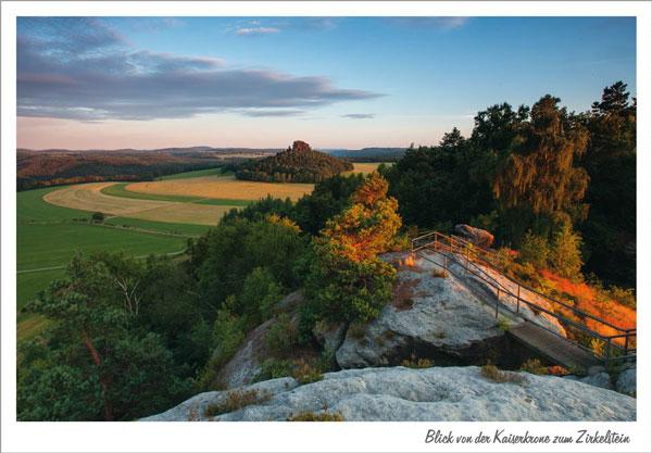 Ansichtskarten-Set - Sächsische Schweiz