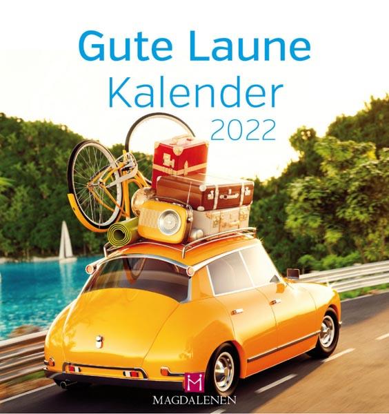 Kalender Gute Laune 2022 gelbes Auto