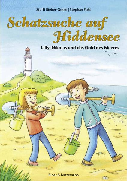 Buch Schatzsuche auf Hiddensee Kinder Strand Lilly