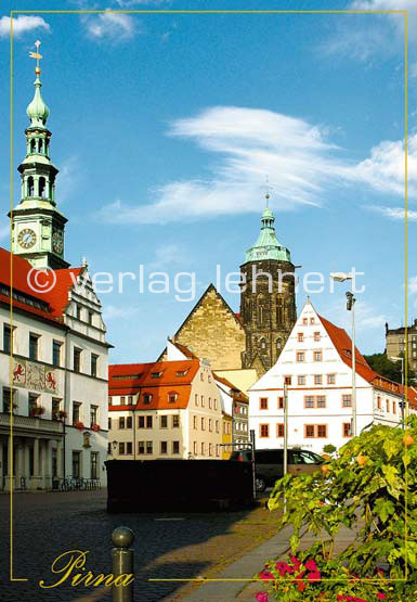 Ansichtskarte Canalettostadt Pirna
