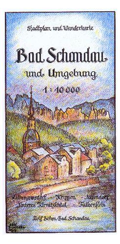 Wanderkarte Bad Schandau Sächsische Schweiz