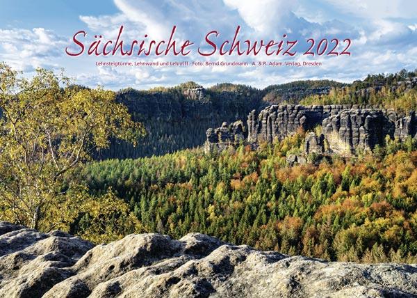 Kalender Sächsische Schweiz 2022 Schrammsteine