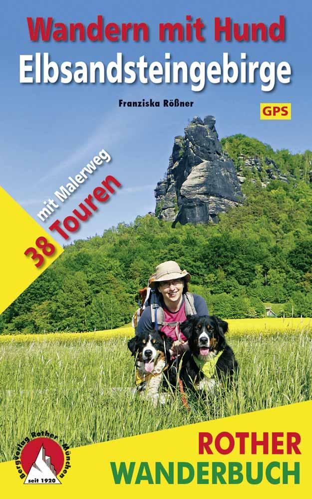 Wandern mit Hund Elbsandsteingebirge Buch Rother