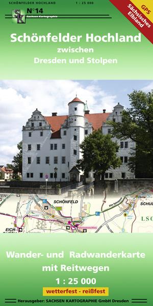 Schönfelder Hochland Karte Burg Stolpen