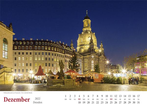 Dezember 2022 Weihnachtsmarkt Neumarkt Dresden