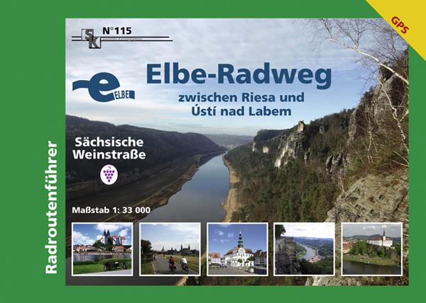 Elbe-Radweg Radtourenführer